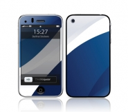 Iphone 3G/3GS White Blue