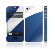 Iphone 4S White Blue